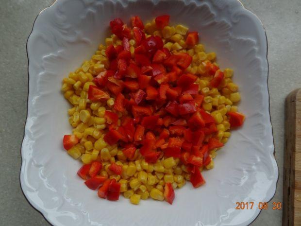 Sałatka czerwono - żółta