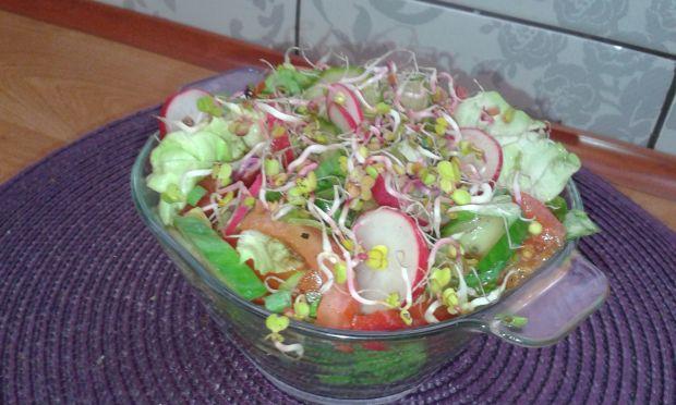 Sałatka do potraw z grilla