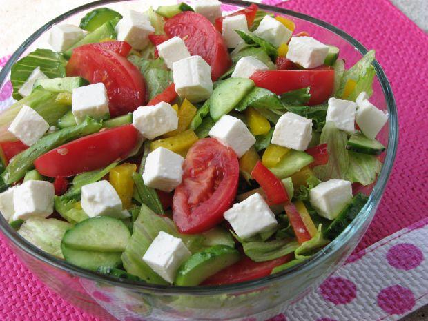 Pyszna sałatka grecka