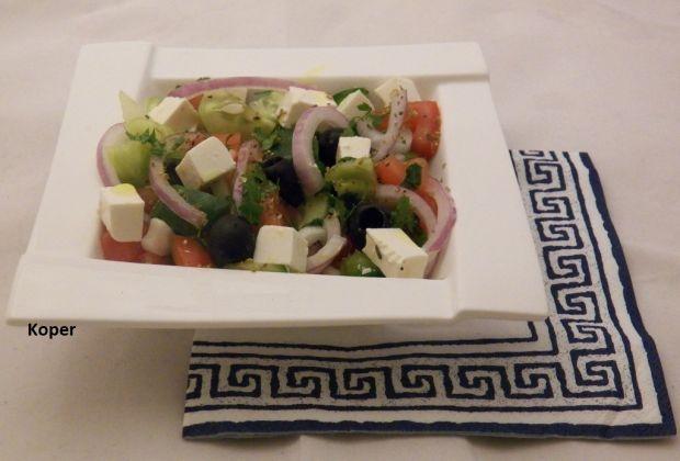 Sałatka grecka wg Koper
