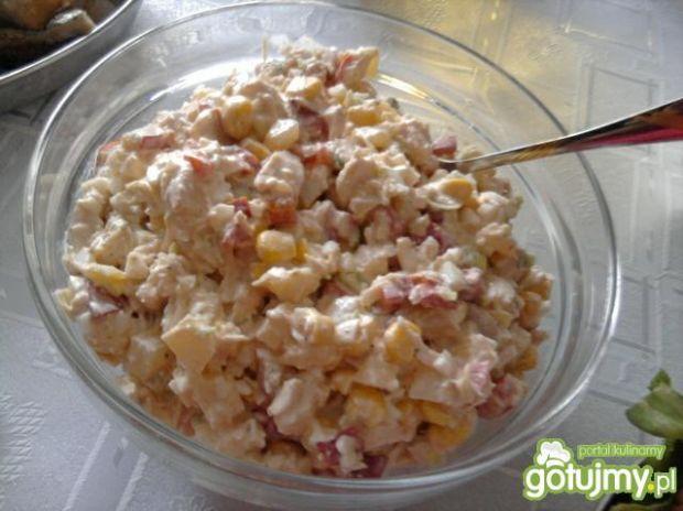 Sałatka kukurydziano-paprykowa