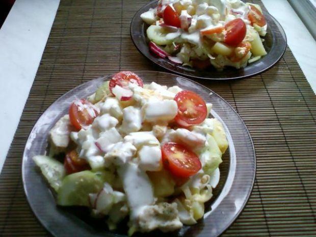 Sałatka light  -  na obiad