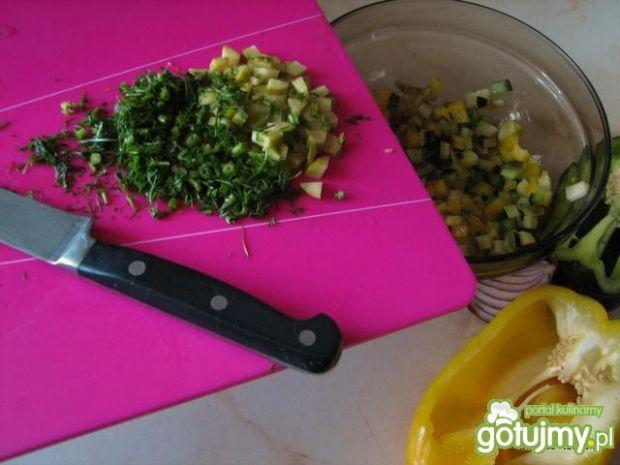 Sałatka makaronowa lisiecka