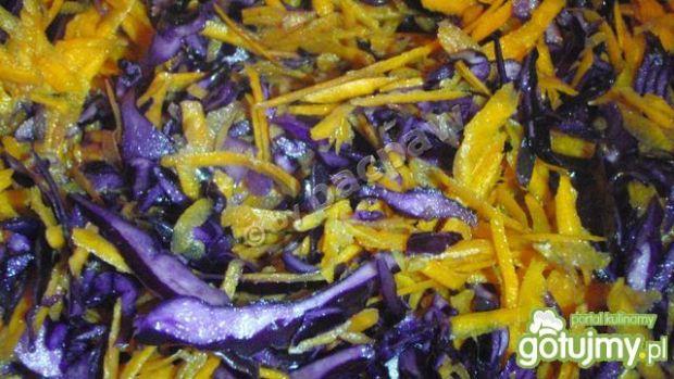 Sałatka marchewkowo-kapuściana