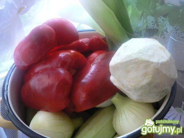 Sałatka na zime warzywna