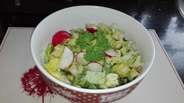 Sałatka nr 5 Avocado-rzodkiewka Dieta 1200 kalorii