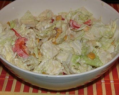 Sałatka obiadowa z pekinki
