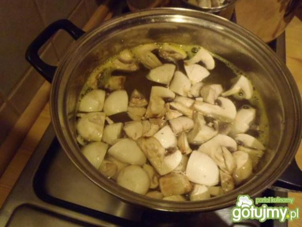 Sałatka obiadowa z zupki chińskiej