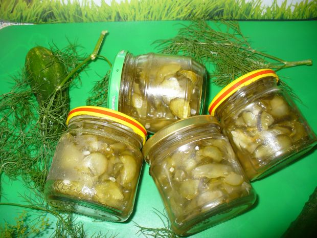 Sałatka ogórkowa z chili