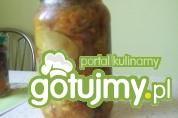 Sałatka ogórkowa z kurkumą 2