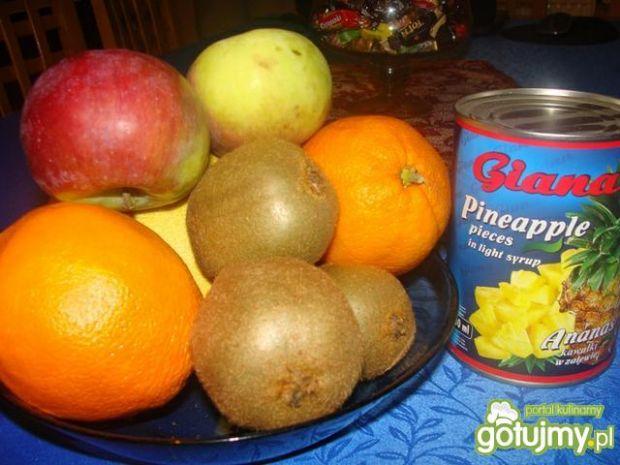Sałatka owocowa Edzi