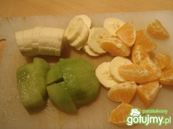 Sałatka owocowa na bazie serka