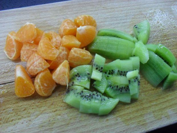 Sałatka owocowa z lodem