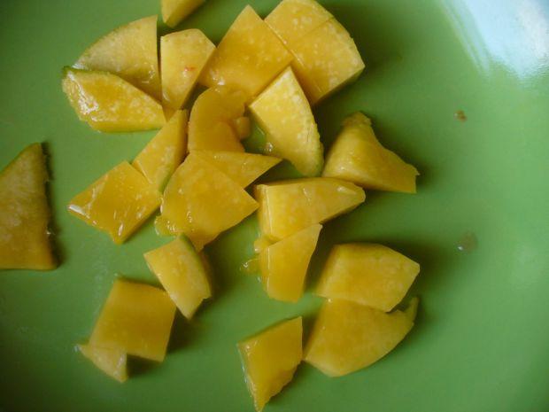 Sałatka owocowa z serem feta