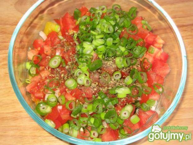 Sałatka paprykowo- pomidorowa