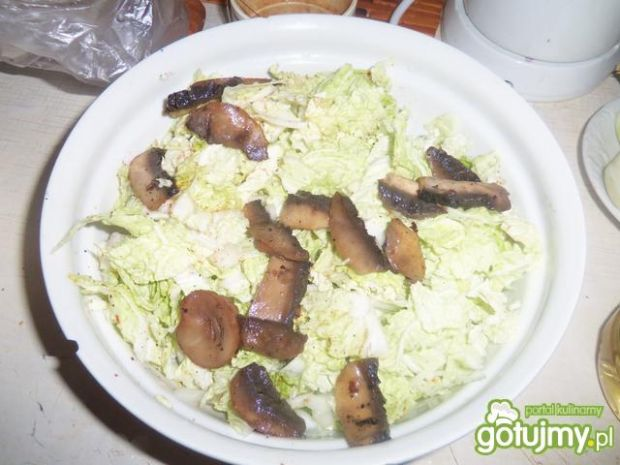 Sałatka  pekińska