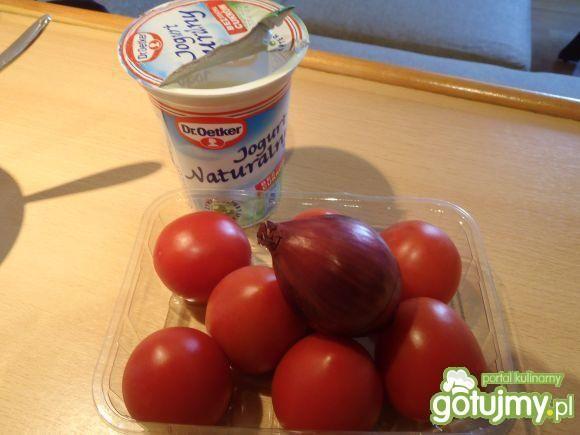 Sałatka pomidorowa z fetą