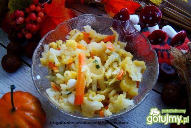 Sałatka rodzinna-obiadowa