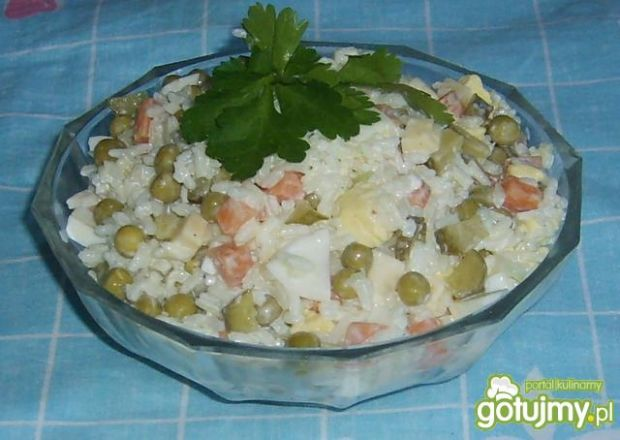 Sałatka ryżowa katarzyny