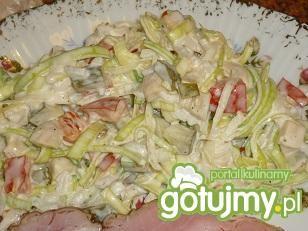 Sałatka ryżowa wg Wafelek