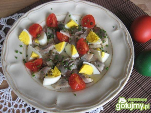 Sałatka śledziowa z jajkiem (2)