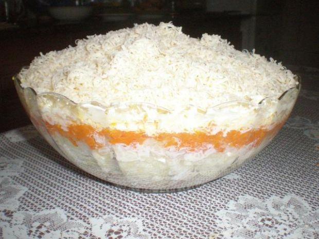Sałatka śledziowa z marakonem ryżowym