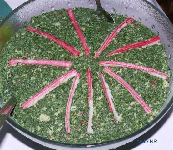 Sałatka szpinakowa