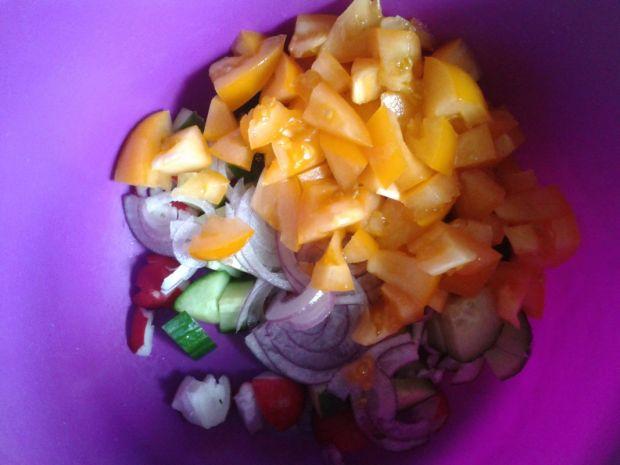Sałatka trzy kolory pomidory