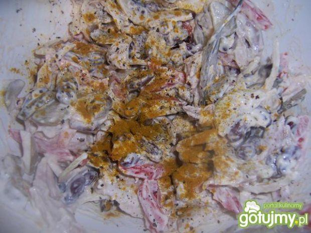 Sałatka w muszlach taco 3