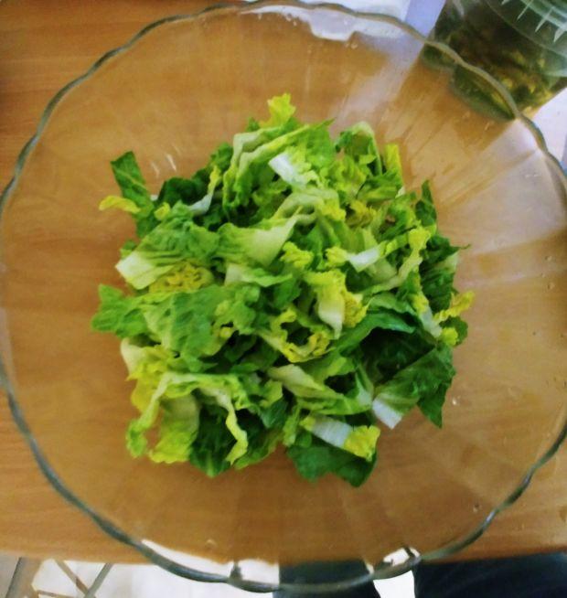 Sałatka warzywna z gorgonzolą