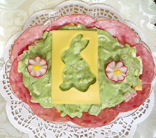 """Sałatka """"Wielkanocna"""""""