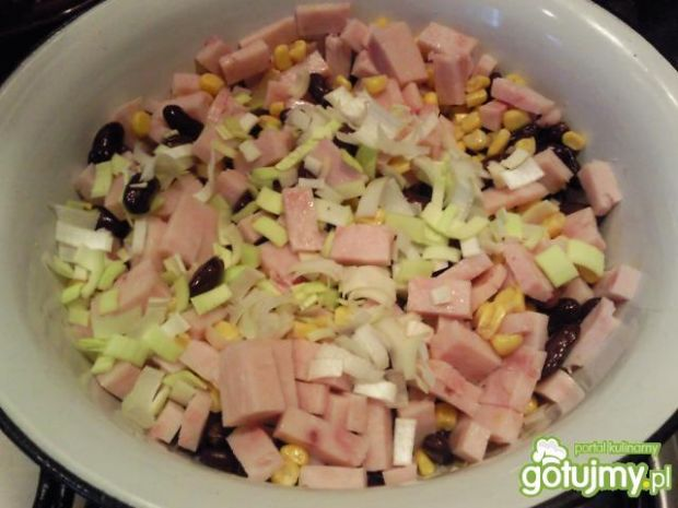 Sałatka wiosenna z majonezem