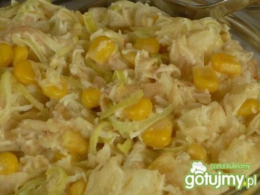 Sałatka z ananasa wg Wafelka