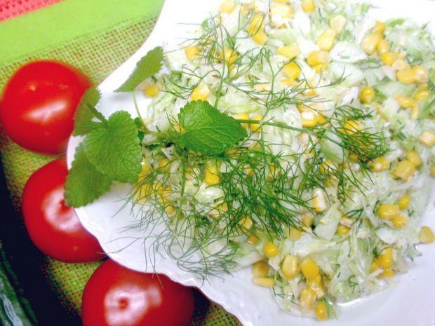 Sałatka z białej kapusty