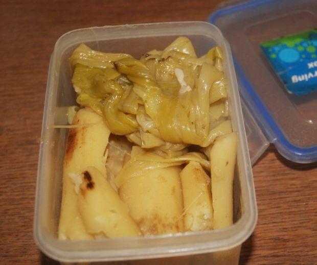 Sałatka z białych warzyw i ziemniaków