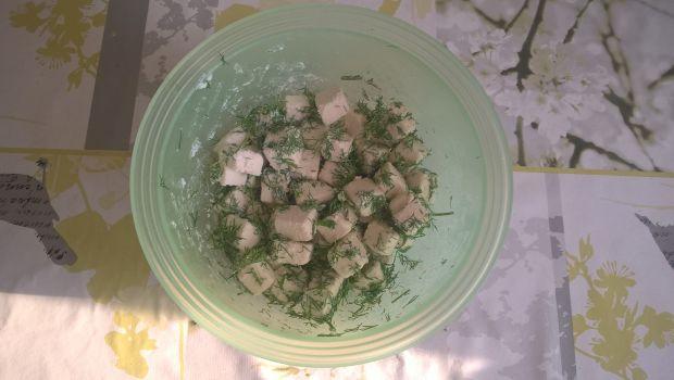 Sałatka z botwinką, fetą i koperkiem