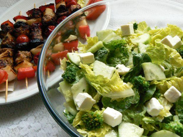 Sałatka z brokułem