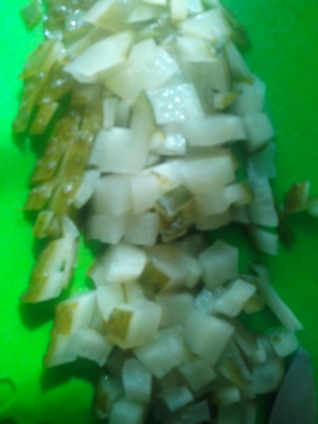 Sałatka z fasolą