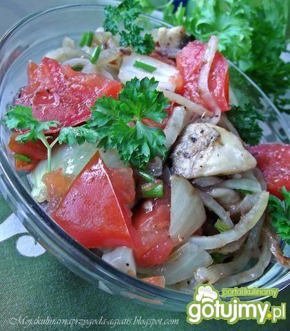 Sałatka z grillowanych warzyw 4