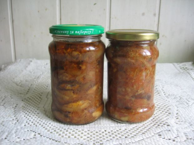 Sałatka z grzybów - przetwory