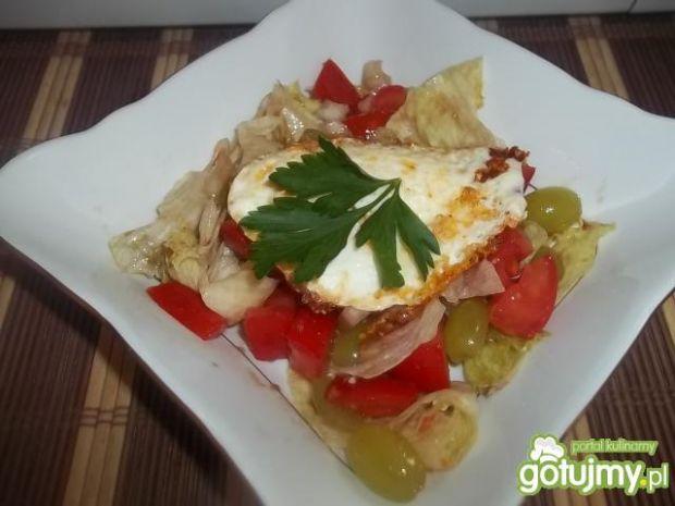 Sałatka z jajkami 5