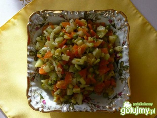 Sałatka z jarzyn gotowanych