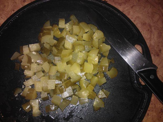 Sałatka z kapustą pekińską i tortellini