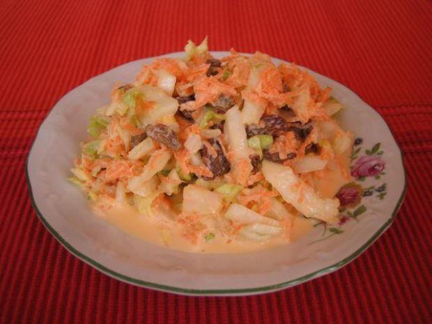 Salatka z kapusty pekinskiej