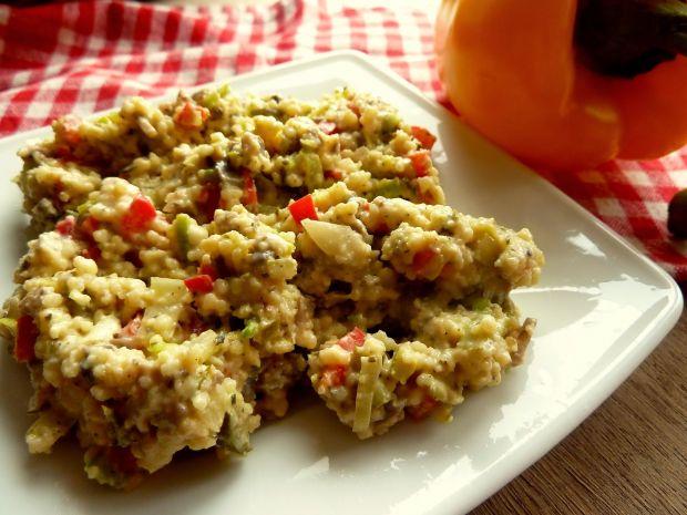 Sałatka z kaszy kus-kus z ziołami prowansalskimi
