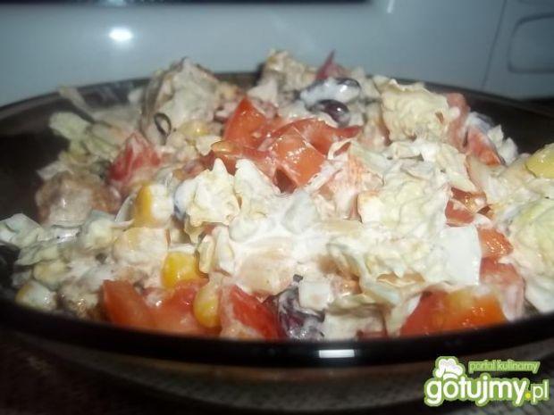 Sałatka z kurczakiem 12