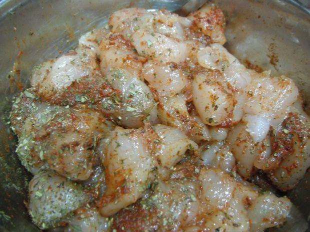 Sałatka z kurczakiem i szpinakiem