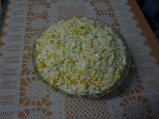 Sałatka z makaronu -ryż