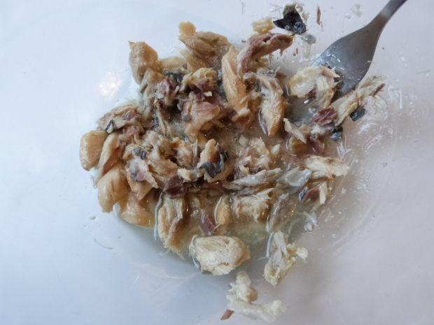 Sałatka z makreli w oleju