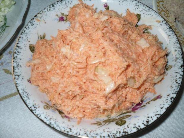 Sałatka z marchewki do obiadu